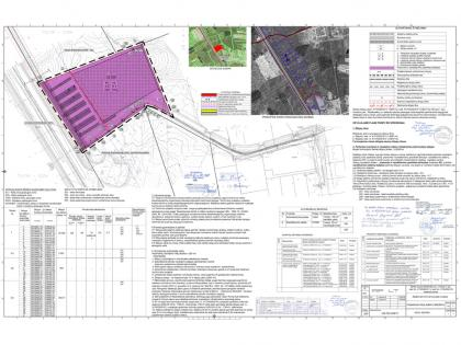 Detailed plan for logistics center in the territory of 2,5 ha in Vilnius region, Lithuania