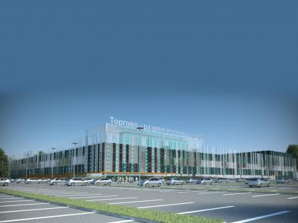 Shopping and entertainment centre in Minsk, Republic of Belorus